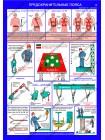 Безопасность работ на высоте комплект из 4 плакатов