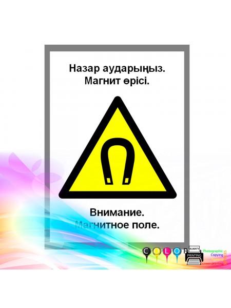 Внимание. Магнитное поле